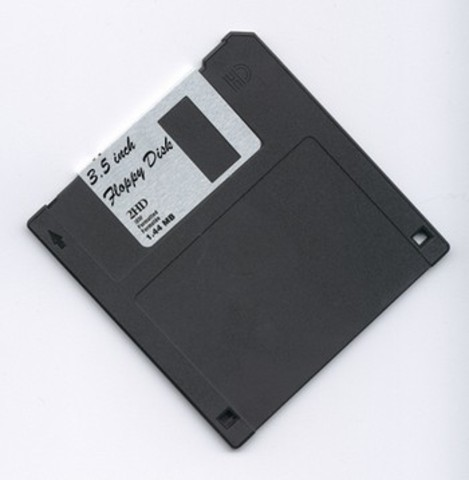 The Floppy Disk is invented