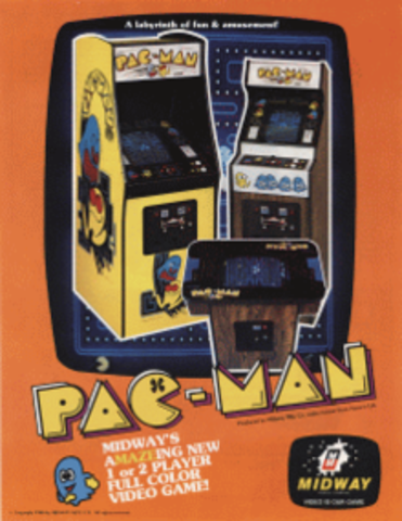 Pac Man released in the U.S.