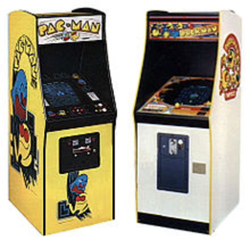 Pac - Man relesed in Japan under the name Puck-Man.