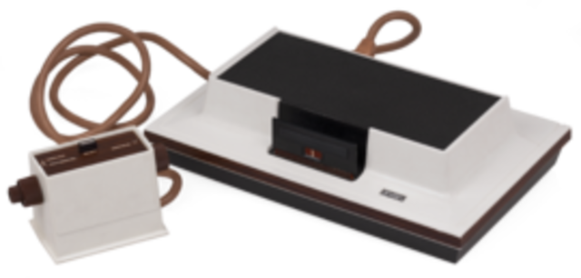 Magnavox Odyssey is Relesed Becoming the first Home  Video Game Console