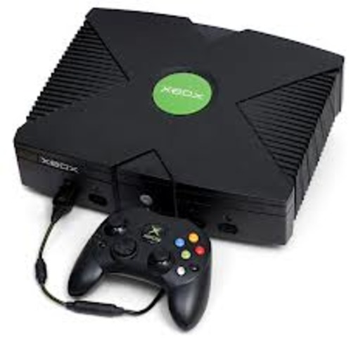 The first X-box