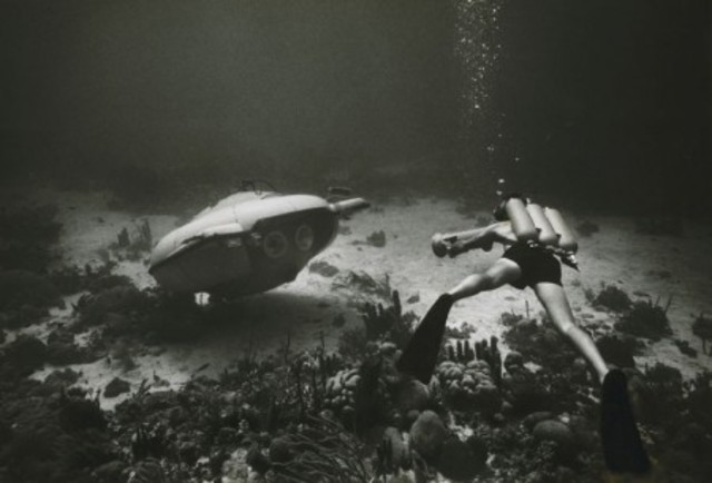Published first undersea articles by Jacques Yves-Cousteau