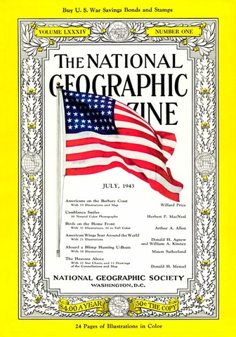 First Issue with Photograph on the Cover