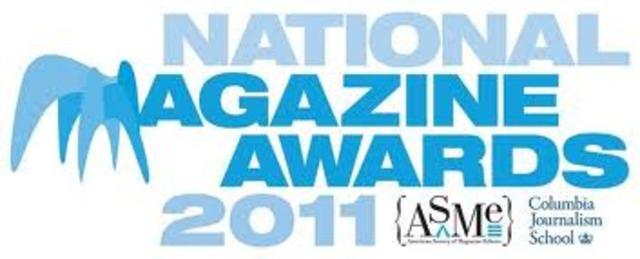 Magazine of the Year Award.