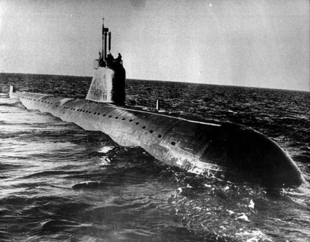 Первая советская ядерная подлодка