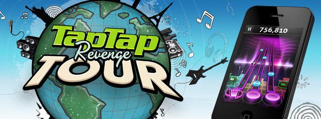Tap Tap Revenge Tour app