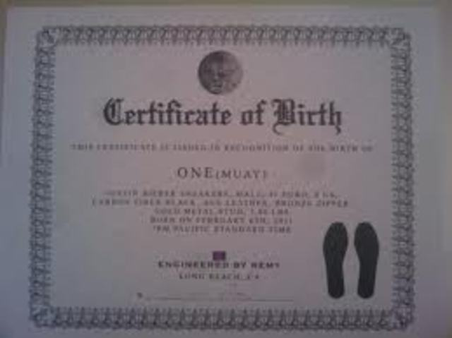 justin biebers birth certificate