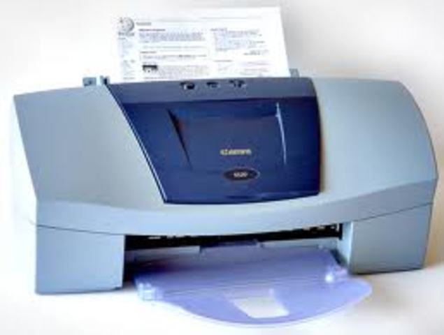 Ink Jet Printer Invented