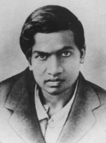 Srinivasa was born in Erode, India