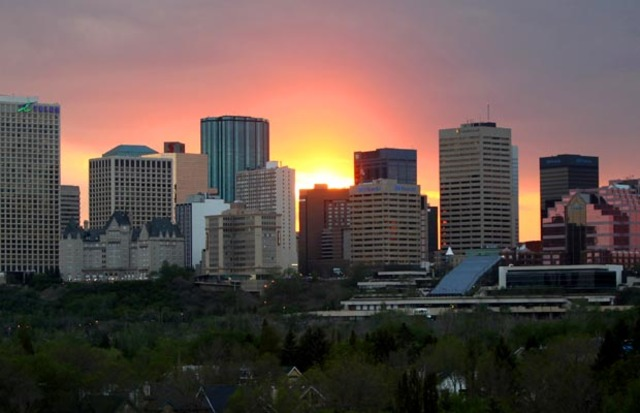 Moves to Edmonton