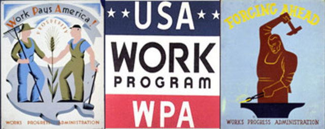 a history of the works progress administration wpa of roosevelts new deal The works progress administration (wpa) was the first major unemployment program of the new deal and one of the most successful of the public works programs authorized by the emergency relief appropriation act in april 1935.