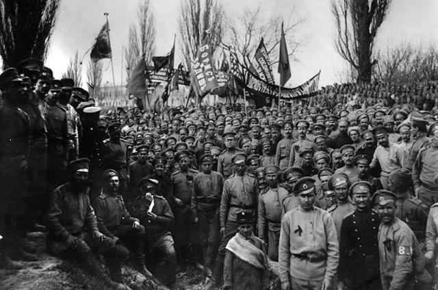 Bolshevik Revolution Begins