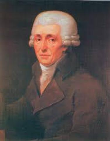 Joesph Haydn's first London Symphony was performed.
