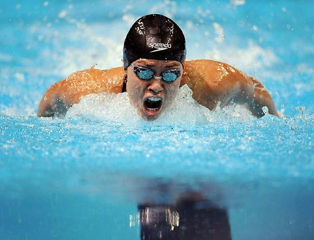 Butterfly was first swam in the Olympics
