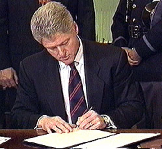 Defense of Marriage Act signed into law