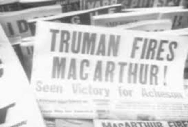 Truman Fires MacArther