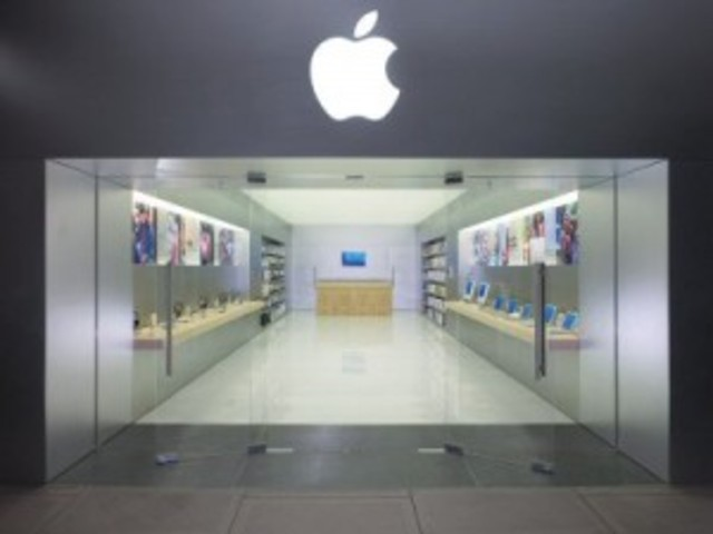 Introduces Apple Store