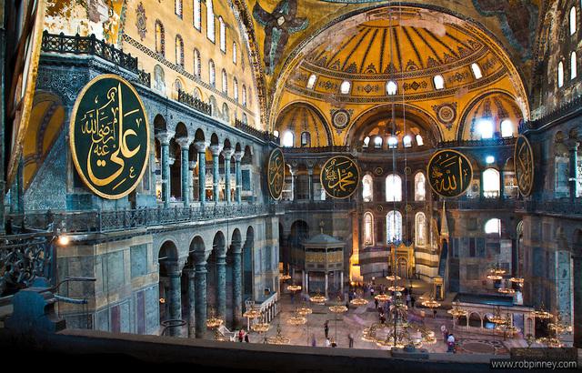 Constantinople Falls, Hagia Sophia converted into a Mosque