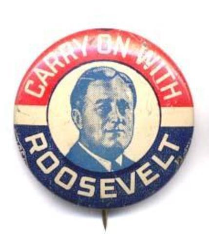 Roosevelt Reelected