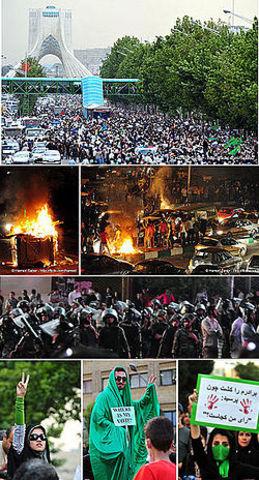 Protestas Electorales Iraníes