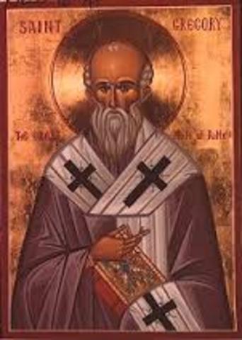 """Papa Gregori I """"El Magne"""""""