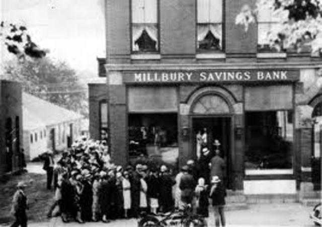 20 Major Events of the Great Depression timeline ...