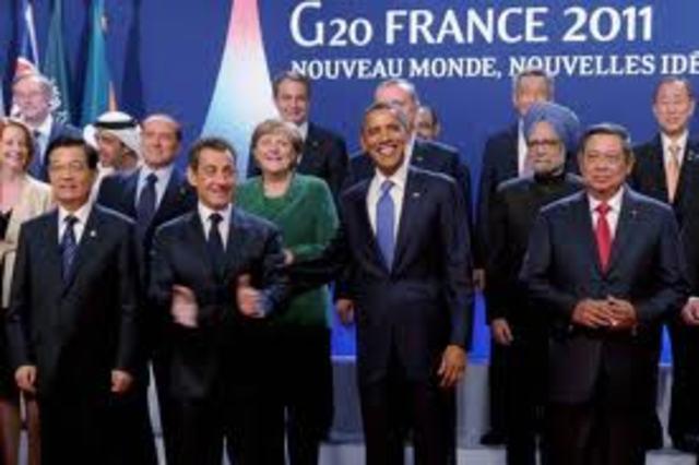 G20's sidelines (Bloomberg)