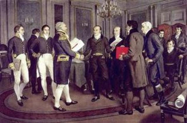 The Signing of the Reciprocity Treaty