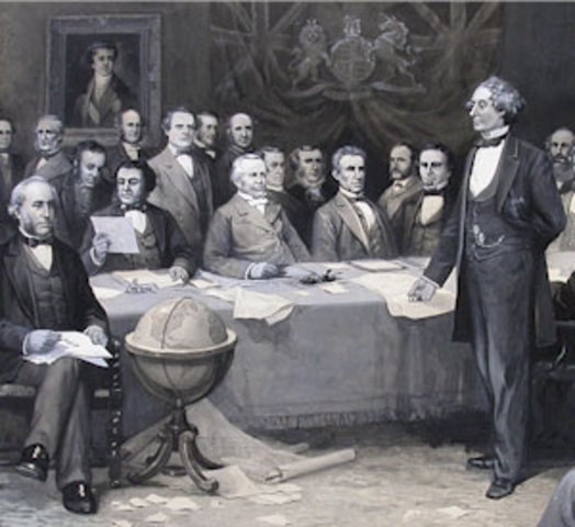 The Singing of the British North American Act