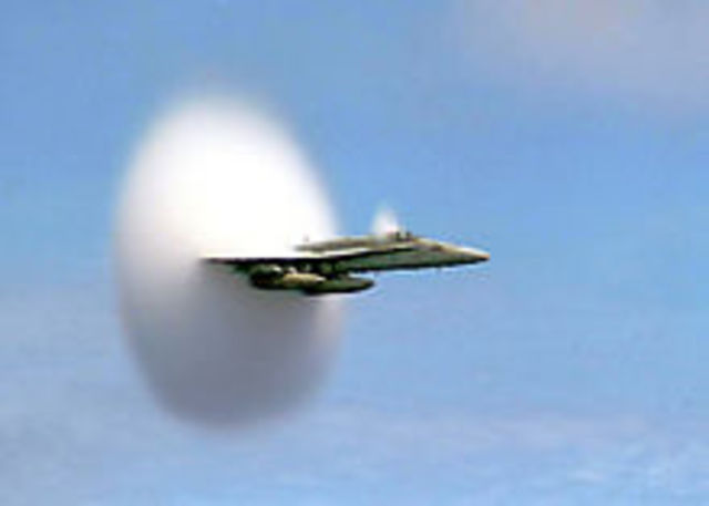 Invention of Plane Moving at the Speed of Sound
