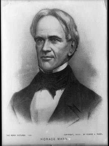 Horace mann shaped the first board