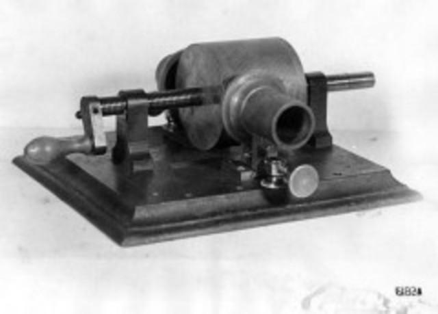Tinfoil Cylinder Phonogragh