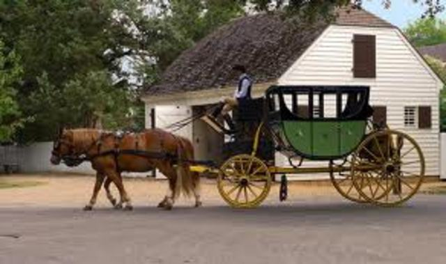 4-Wheeled Horse-Drawn Carriages