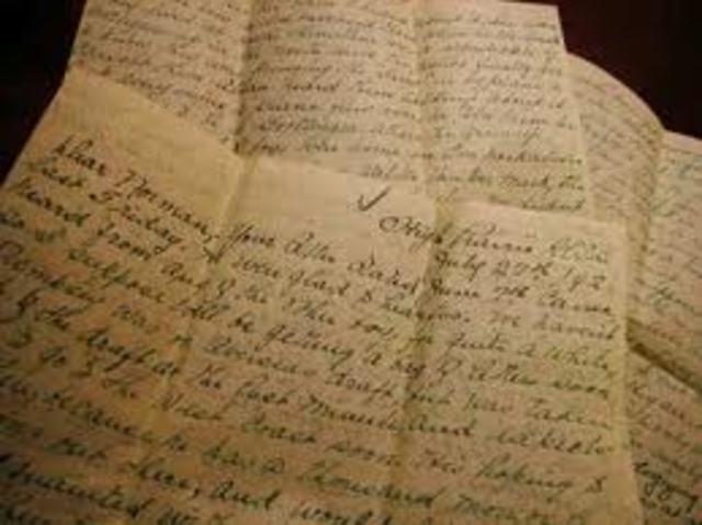 Carta  San Martín