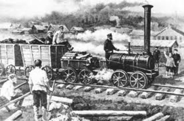 steam locomotive: First Steam Powered Locomotive