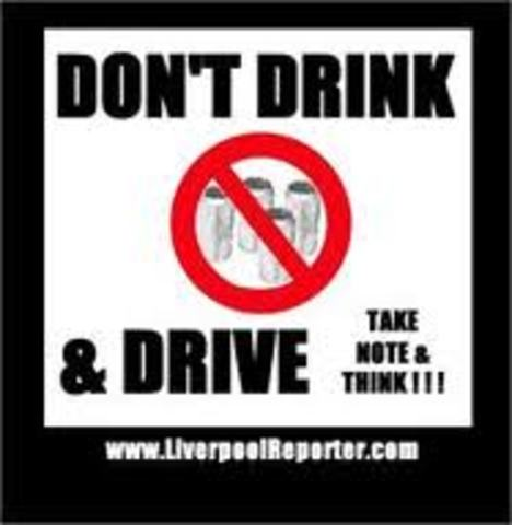 Drunk Driving is Illeagal