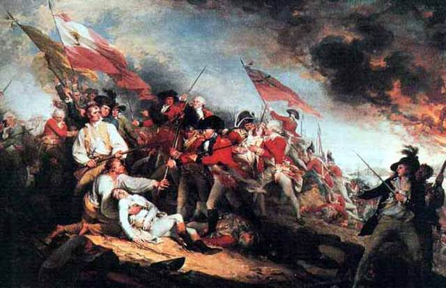 The Battle of Bunker's Hill