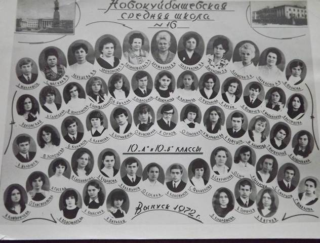 Выпуск 1972 г.
