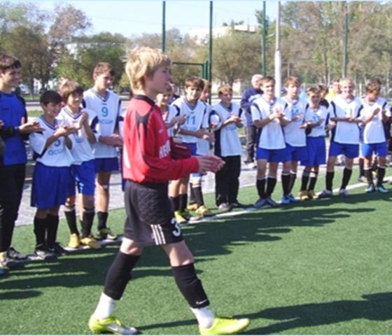 Создание секции «Футбол»