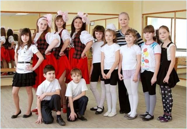 Создание танцевальных групп «Современные ритмы», «Фантазия», «Образ»