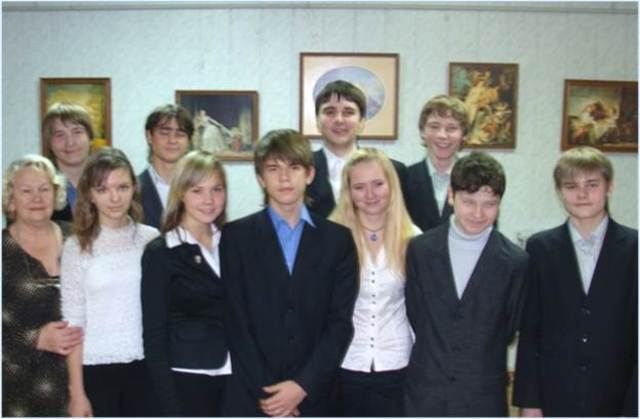 Лекторская группа клуба «Шедевр» под руководством Рудаковой Галины Фёдоровны, 2009-2010 гг.