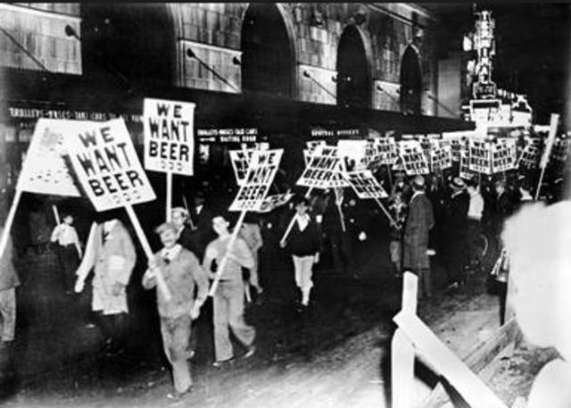 The Prohibition Era Begins