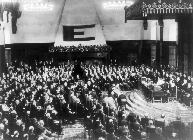 """""""Congrès de l'Europe"""" à La Haye"""