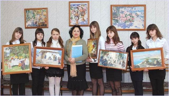 Лекторская группа клуба «Шедевр» под руководством Лапиной Татьяны Георгиевны, 2012 г.