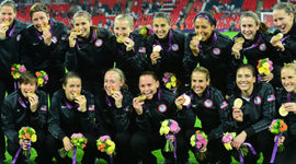 Current US Women Soccer Players Birthday's timeline