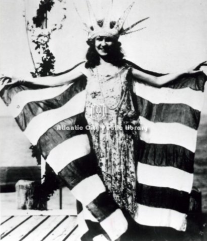 The first Miss America Pagent