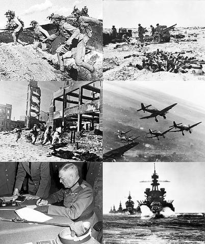 World war 2 begins in Europe