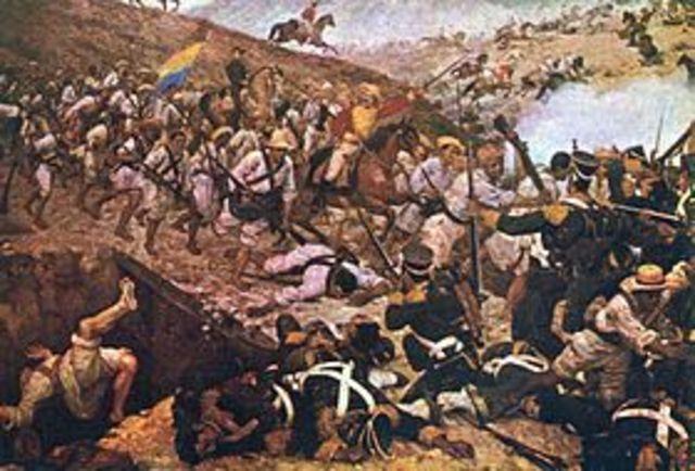 Batalla La Villa de los Santos (Panama)