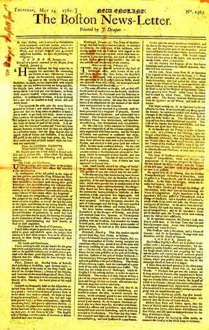 Very first newspaper