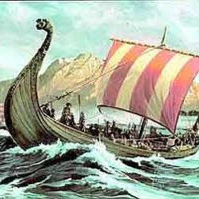 Vikingetiden 793-1050 timeline